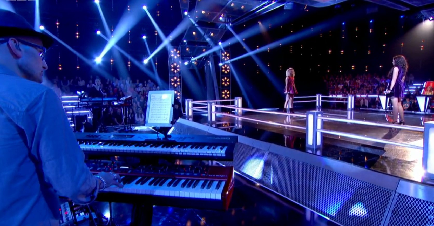 Steve Turner, keyboard player, on BBC The Voice UK